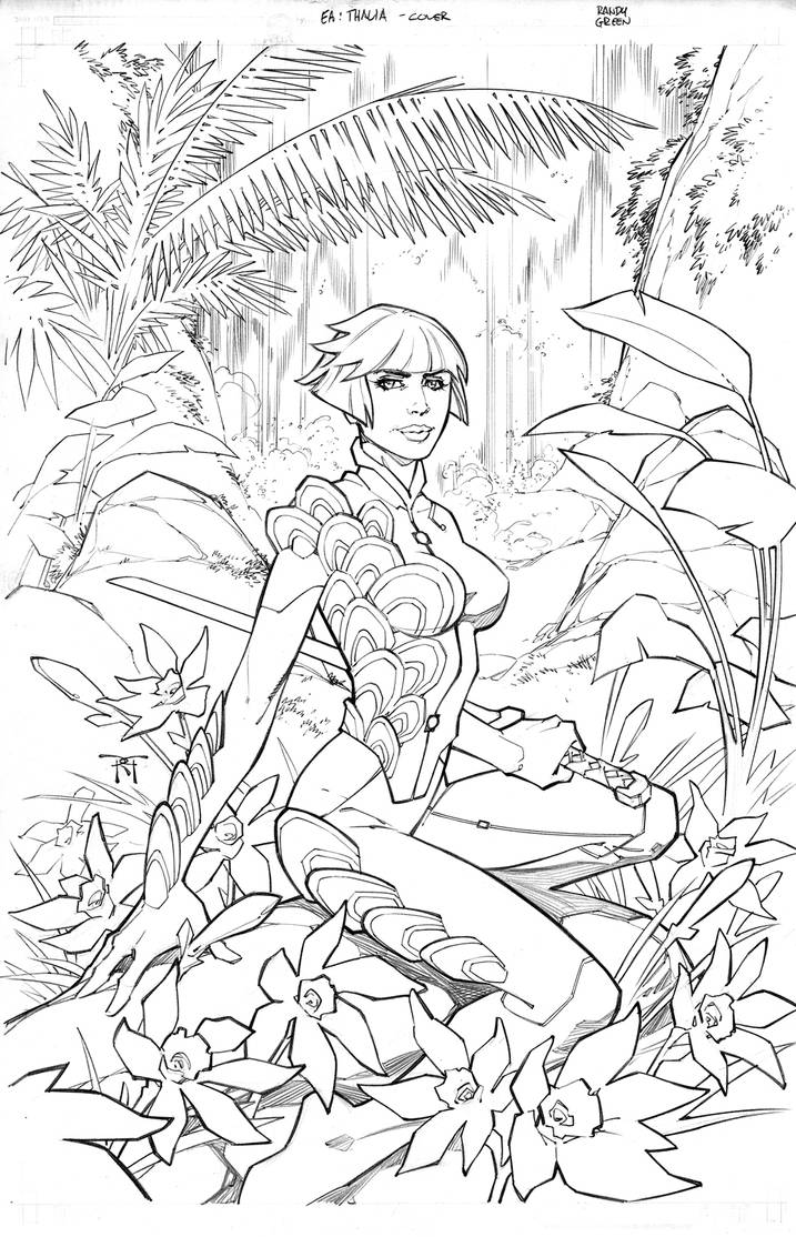 EA Iris vs Thalia Cover by RandyGreen