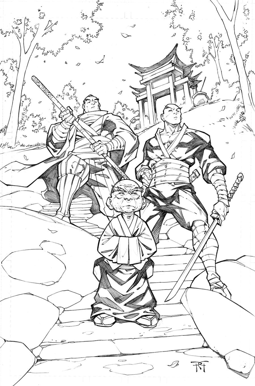 Ninja Boy Family by RandyGreen
