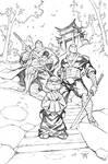 Ninja Boy Family
