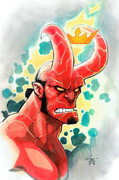 HellBoy headshot