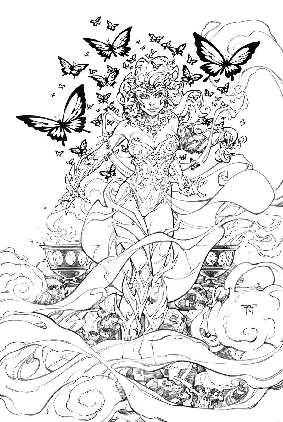 Jirni Variant Cover by RandyGreen