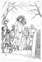 Teen Titans Cover by RandyGreen