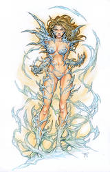 Witchblade Commission by RandyGreen