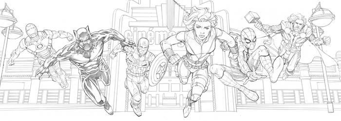 Marvel Avengers by RandyGreen
