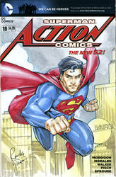 Superman Sketch Cover