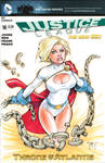 Power Girl Cover Sketch