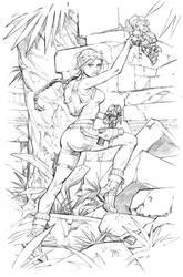 Lara Croft Commission