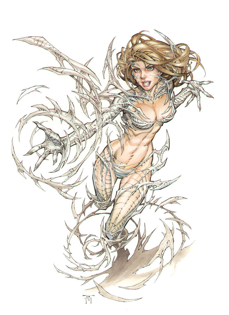 Witchblade Commission Color