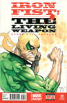 Iron Fist Cover Sketch