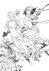 Minxx Cyberpunk Variant Cover