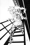 NYOBI Variant Cover Line Art