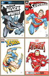 Comic Sketch Covers by RandyGreen