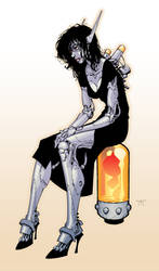 Botgirl by RandyGreen
