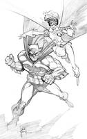 Dark Knight Batman by RandyGreen