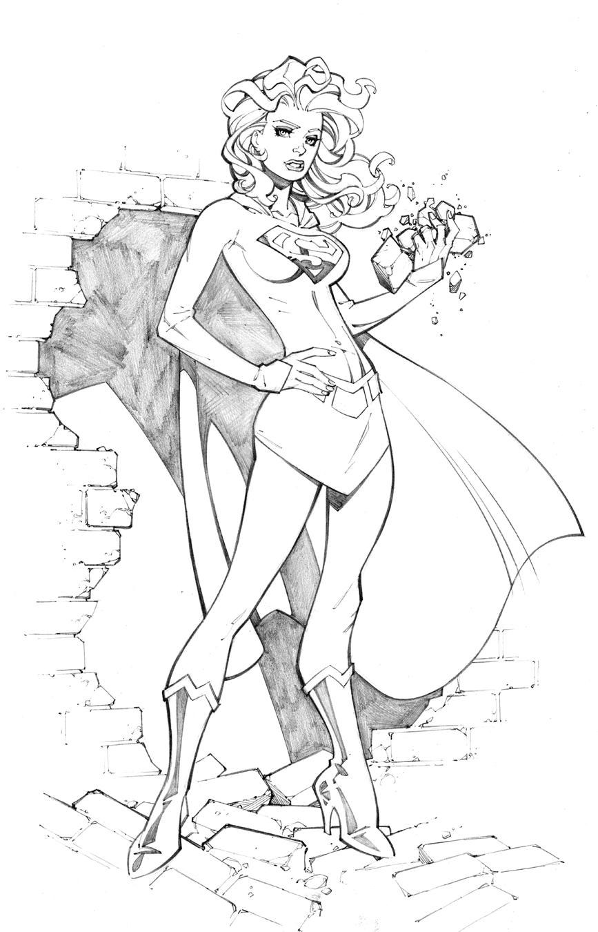Supergirl 1 by RandyGreen