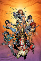 Tales of the Witchblade TP by RandyGreen