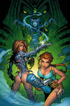 Witchblade and Tomb Raider