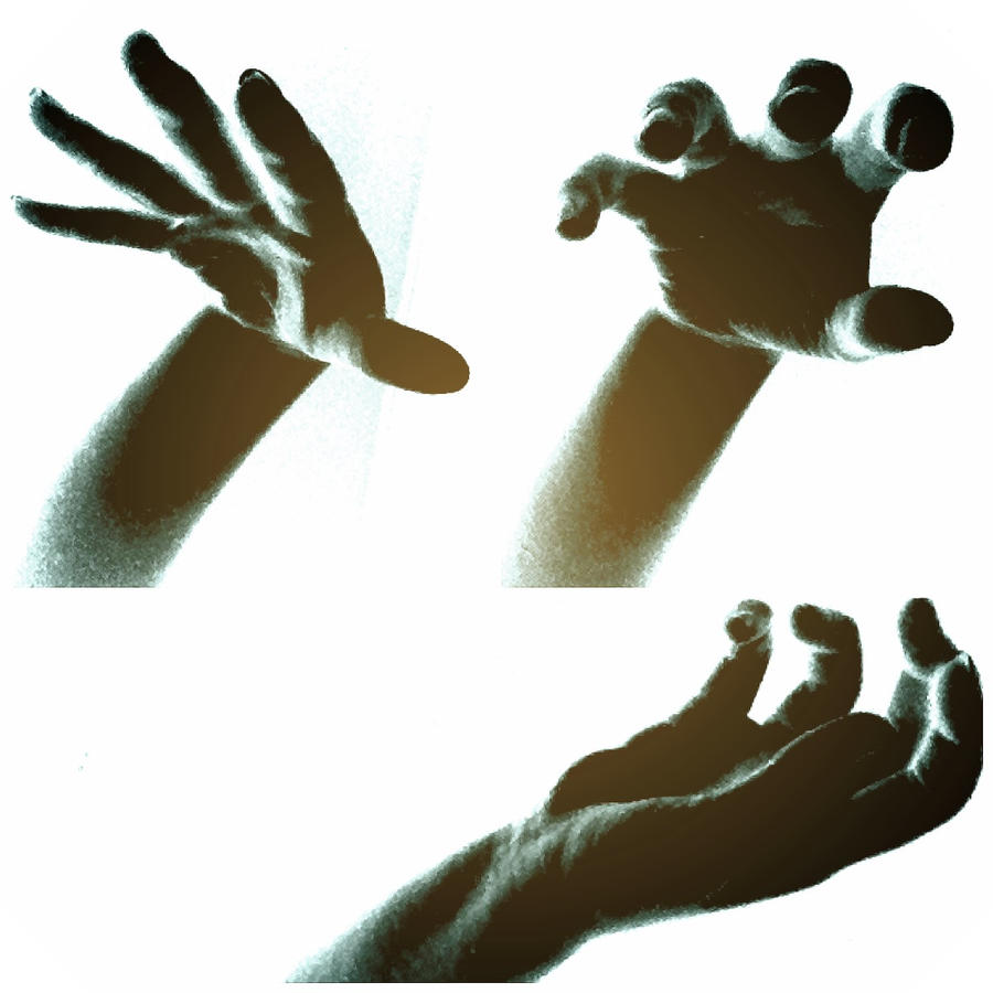 Scary Hands Stock Image - Image: 19228231