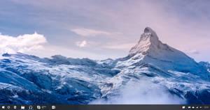 Windows 10 Redstone Taskbar (Hidden Cortana)