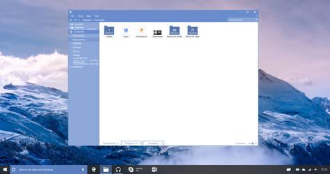 Windows 10 Redstone File Explorer by lukeled