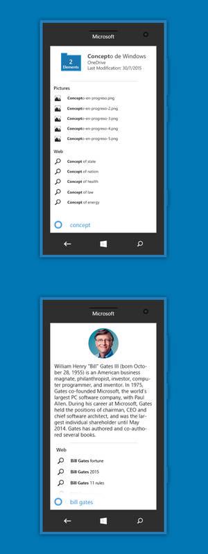 Windows 10 Redstone Mobile Cortana