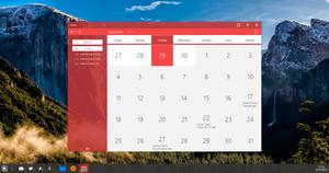 Qubic OS Calendar