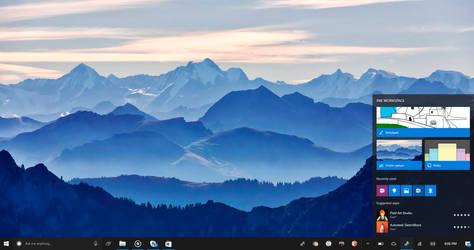 Windows 10 NEON: Ink Workspace