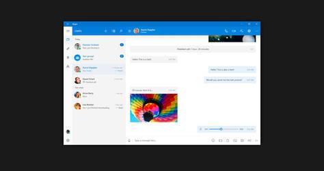 Windows 10 NEON: Skype