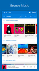 Windows 10 Mobile NEON: Groove Music by lukeled