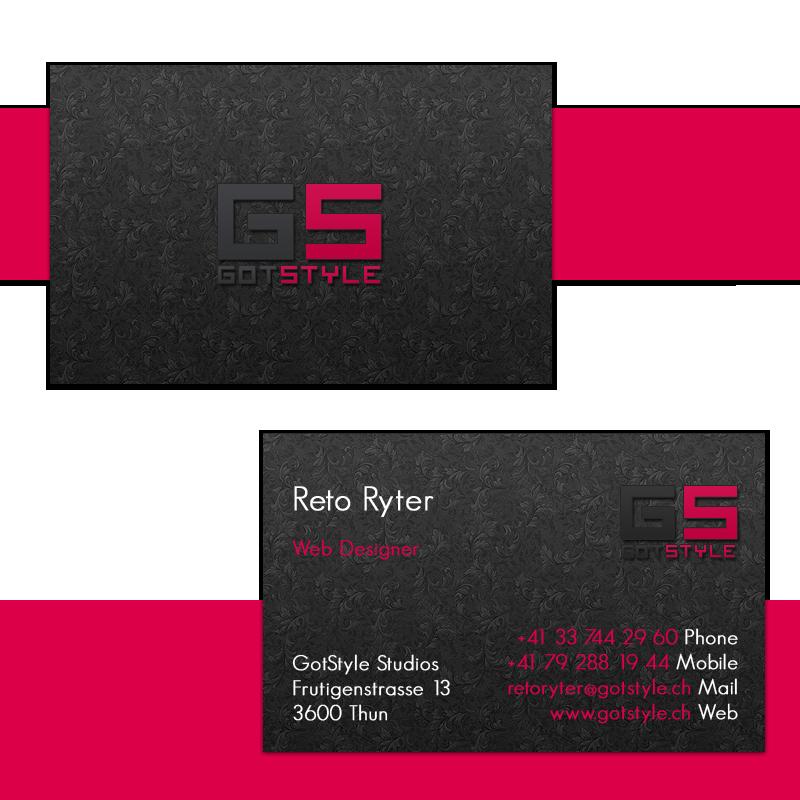 GotStyle Studios Business Card By Breakergsxr