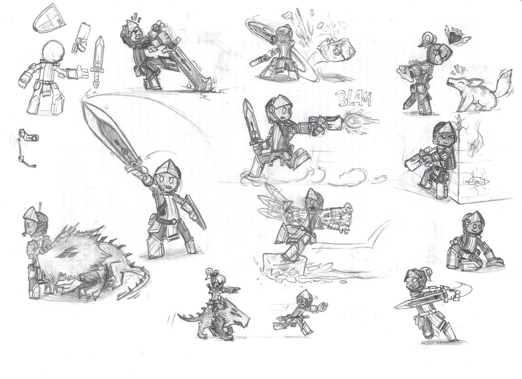 Spiral Knights [Doodles] by Sareth1337