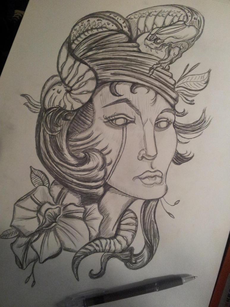 Random Sketch 4 by Rossross1993