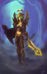 Blood Elf - Warcraft by tomgiest