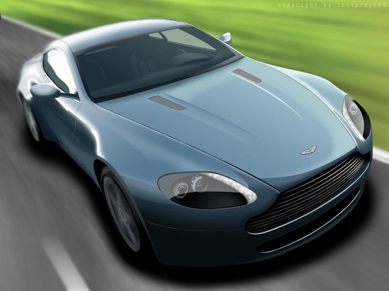 Aston Martin by LostPr0ph3t