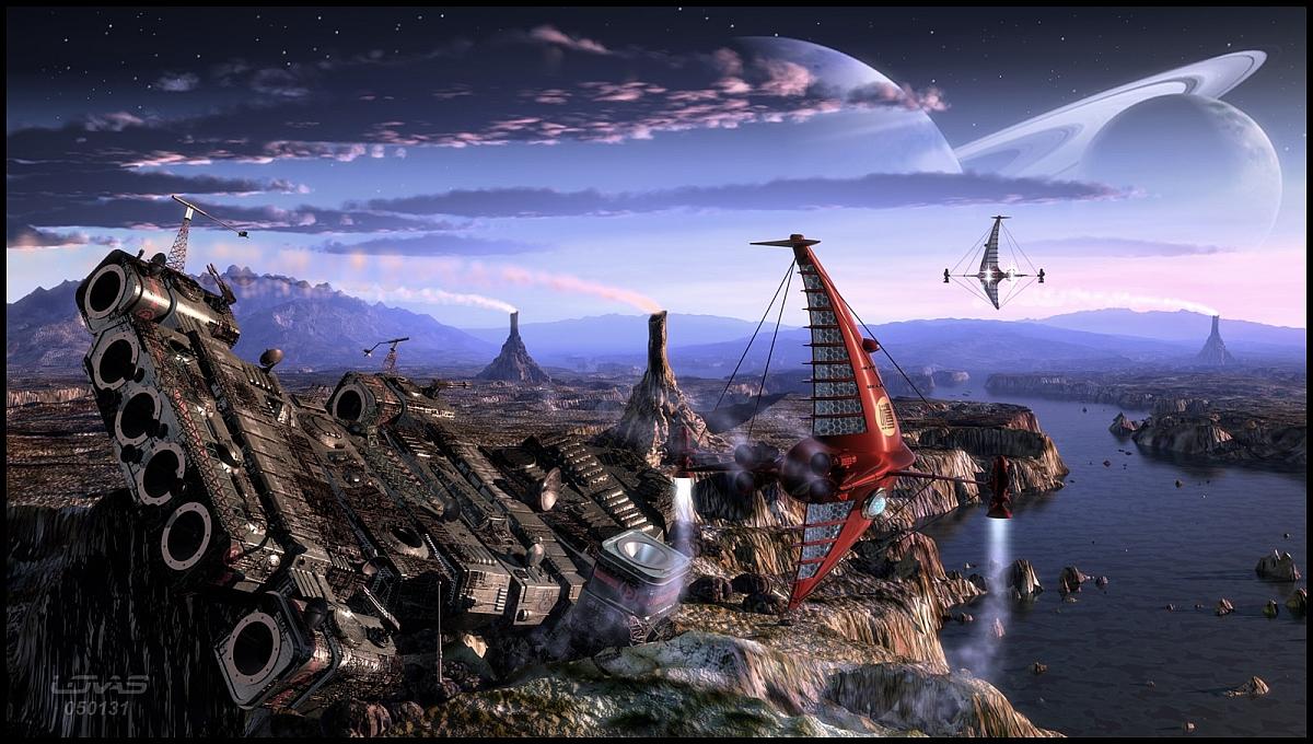 01 the alien derelict by thelovas on deviantart