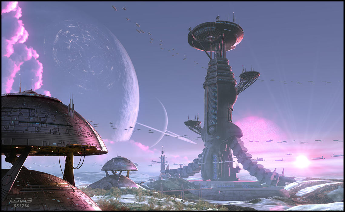 03. Thegg Mining Outpost by theLovas