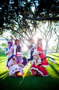 Touhou Project - Group shot