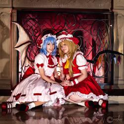 Scarlet Sisters by vensii