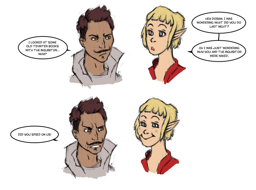 Dorian and Sera by RoseBlanche
