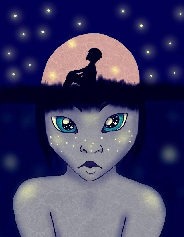 Starry Night by AnalyssaB