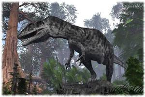 Giganotosaurus by Elperdido1965