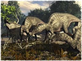 Saurolophus by Elperdido1965