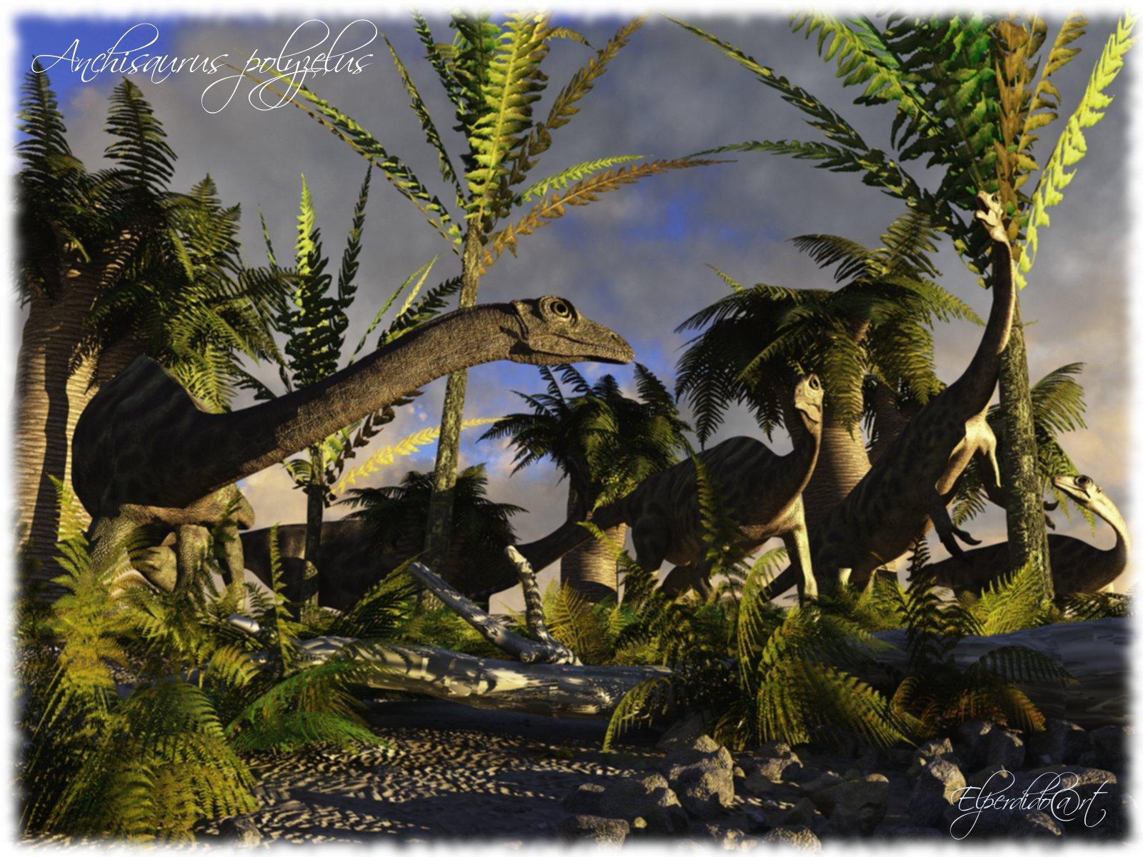 Anchisaurus polyzelus by Elperdido1965