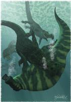 Sacrosuchus by Elperdido1965