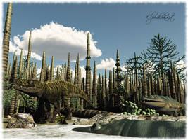 Triassic 'Keuperglades' by Elperdido1965