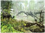 Britain 134 Mio Years B.C.