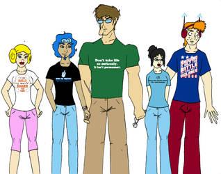 T-Shirts by TenorSaxLolita
