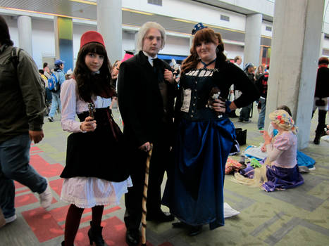 Fanime 2012 - Doctor and Friends