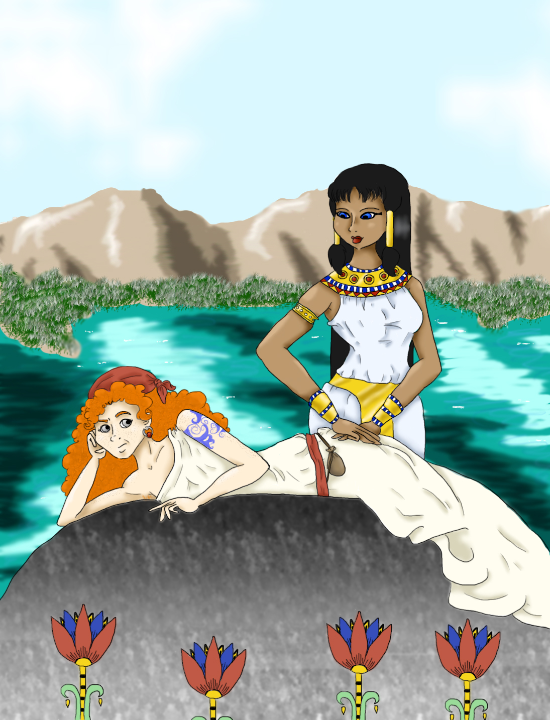 Mara Loves Ghamora by TenorSaxLolita