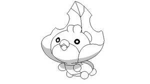 Pokemon Base 11: Happy Sewaddle